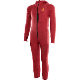 Aclima WarmWool Mono Niños, rojo